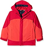Vaude Kinder Kids Suricate 3in1 Jacket III Doppeljacke, Magma, 92