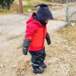 Kind mit Vaude 3 in 1 Jacke